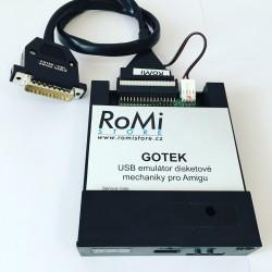 Amiga GOTEK Emulator Externí Mechanika