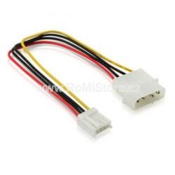 """Molex 5,25"""" - 3.5"""" napájecí kabel 15cm"""