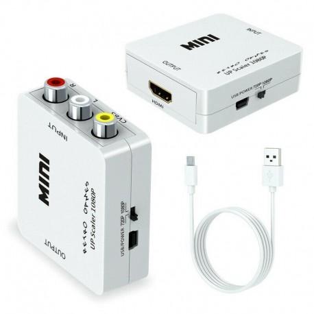 Mini AV Převodník RCA / HDMI