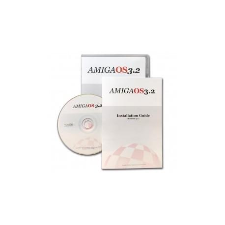 AMIGA OS 3.2 + Kickstart ROM