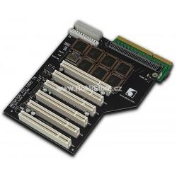 MEDIATOR 1200 TX BLACK PCI BUSBOARD + MMCD