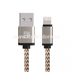Lightning - USB kabel Remax Gold 1m