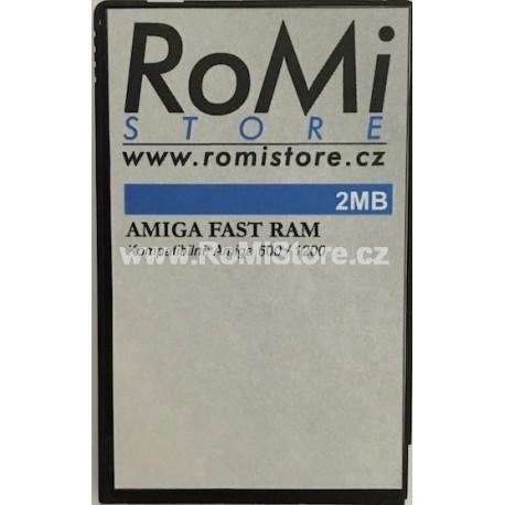Amiga Paměťová karta 2MB SRAM