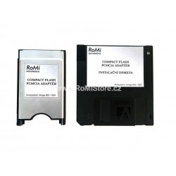 PCMCIA - CF Amiga Adaptér + Software