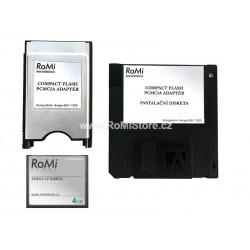 PCMCIA - CF Amiga Adaptér + Software + CF Karta