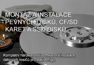 Montáž a instalace datových nosičů